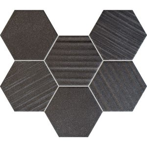 Tubądzin HORIZON BLACK HEX
