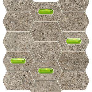 Lemon Stone grey mozaika 29,8×25,0