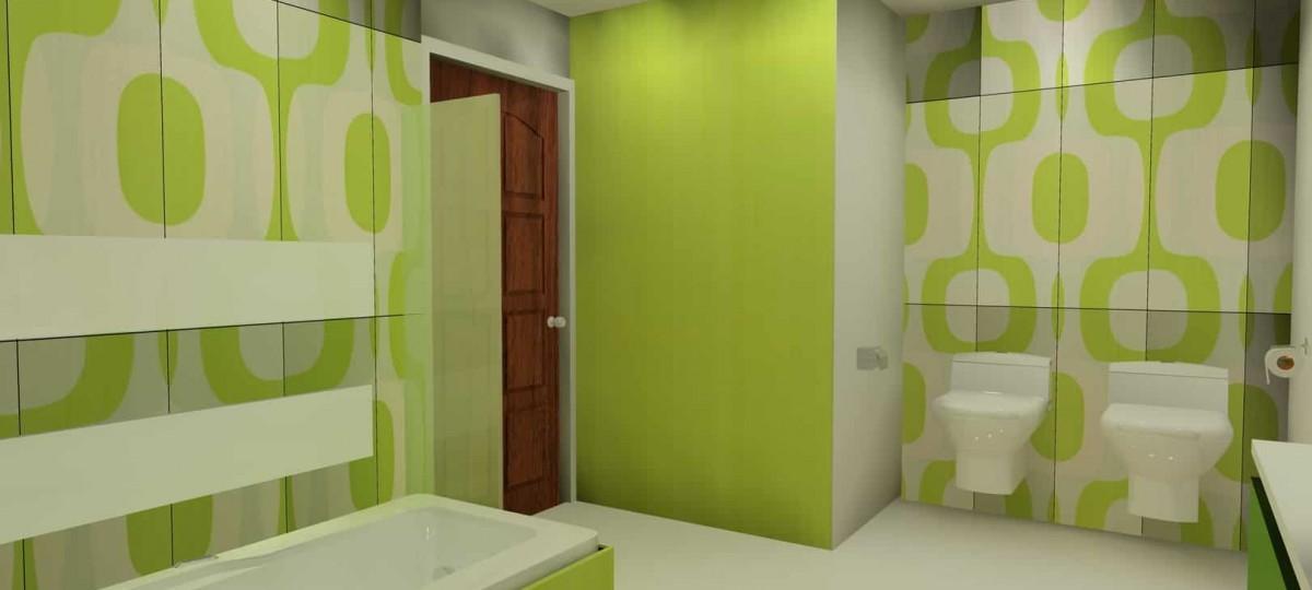 Pomysł na łazienkę – trójwymiarowa wizualizacja