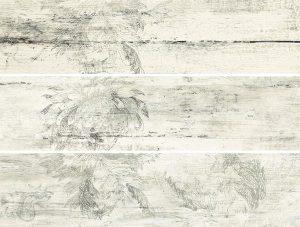 Dekor Timbre flower 59,8×14,8 x 3 szt
