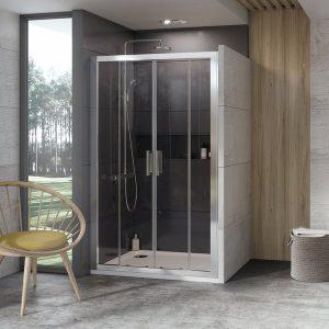RAVAK Drzwi prysznicowe 10° 10DP4