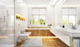 Biała ceramika w łazience